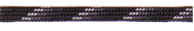 oben Barth Schuhbandl Halbrunde Schnürsenkel 150cm grey